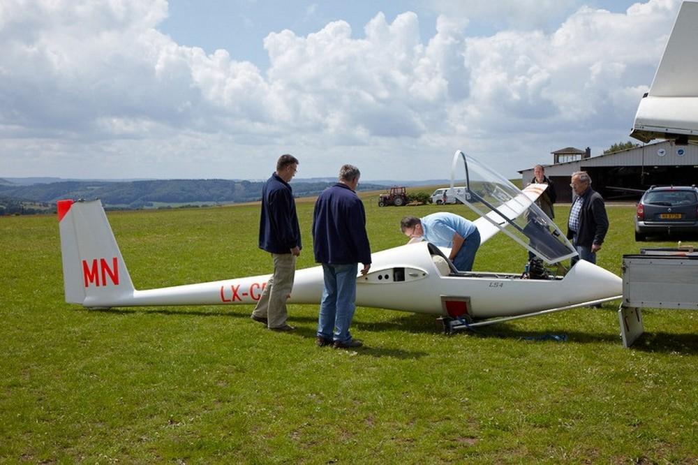 Segelflugplatz Utscheid - Zweefvliegen 1