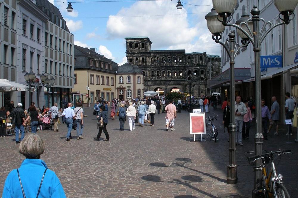 Trier Porta Nigra & Winkels