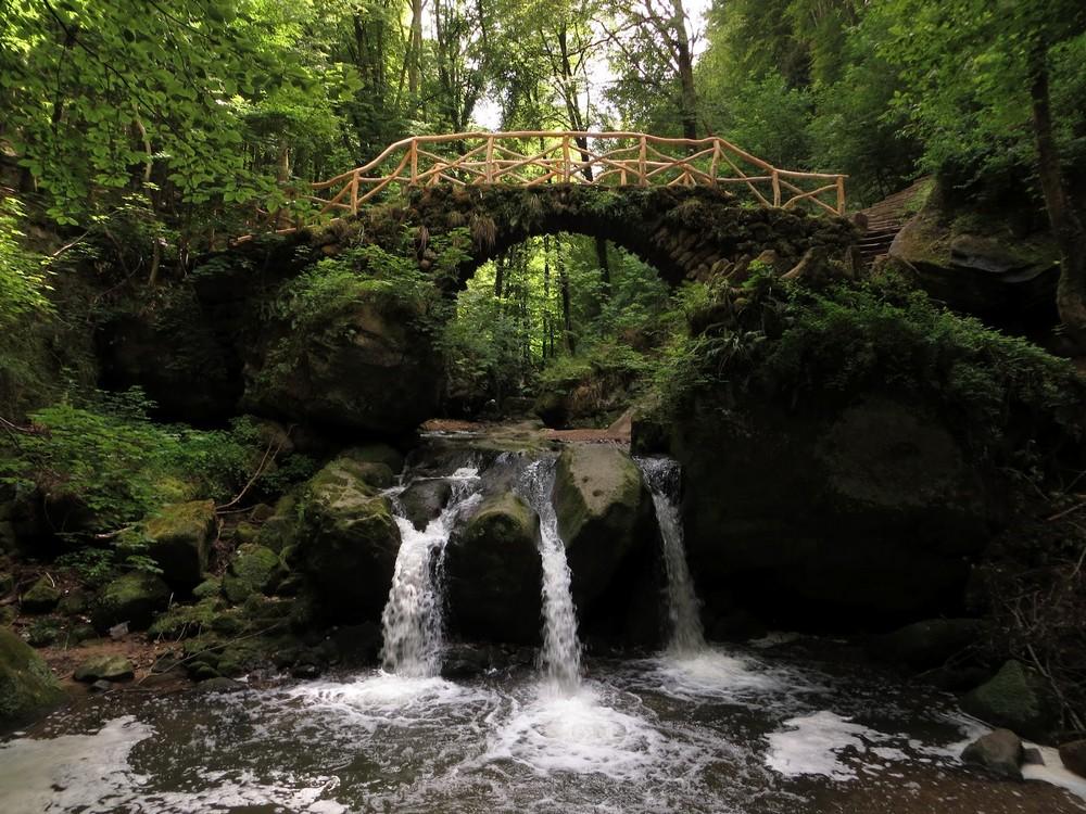 Müllertthal Schiessentümpel waterval