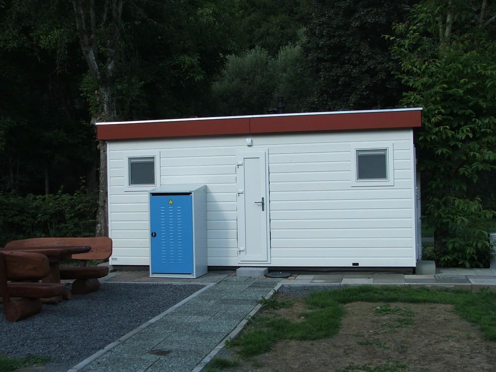 Privé-sanitair Camping In der Enz 1
