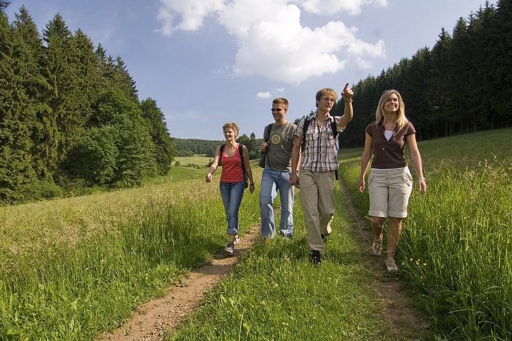 Groepje Wandelaars