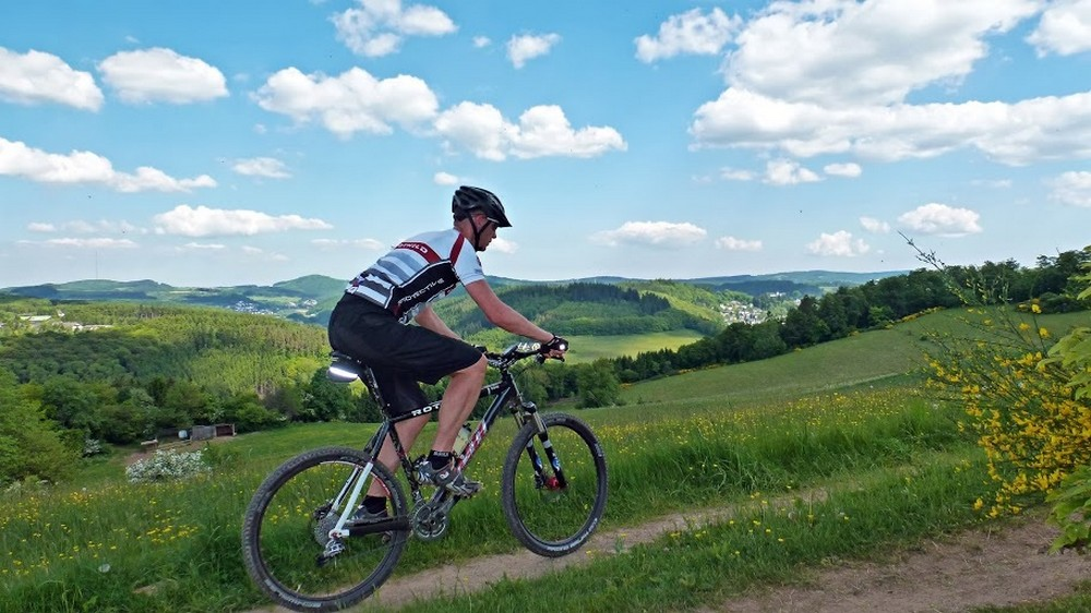 Mountainbiken in de Eifel